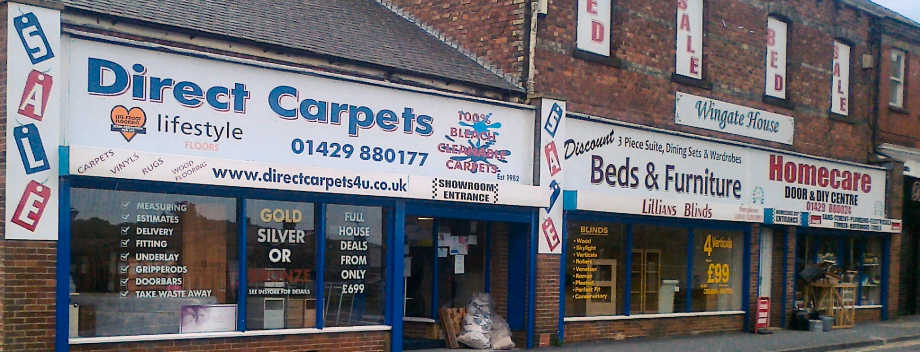 Full House Carpet Deals From Direct Carpets Of Trimdon